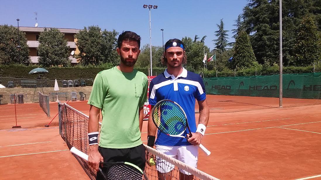 Federico Maccari e Andrea Collarini nella foto