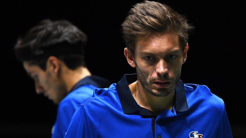 Nicolas Mahut nella foto