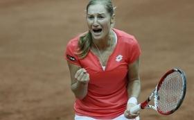 Ekaterina Makarova decisiva per la vittoria della Russia