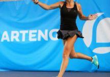 """Mallaurie Noel: """"gioco a tennis con gentilezza"""".  La 22enne transalpina si racconta ai lettori di livetennis"""