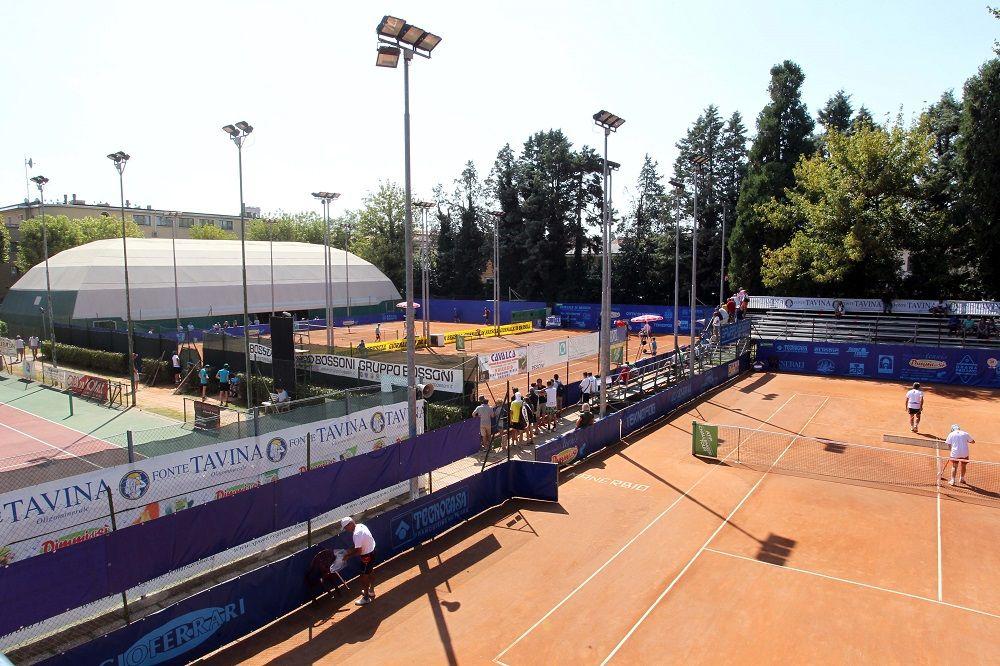 Una panoramica del Tennis Club Manerbio - Foto Felice Calabrò