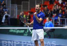 Davis Cup: I Risultati completi con il Live dettagliato del Primo Turno del World Group. Il Day 3. Sarà la Francia a sfidare l'Italia a Genova