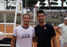 Video del Giorno: Marco Viola si allena con Novak Djokovic al Foro Italico