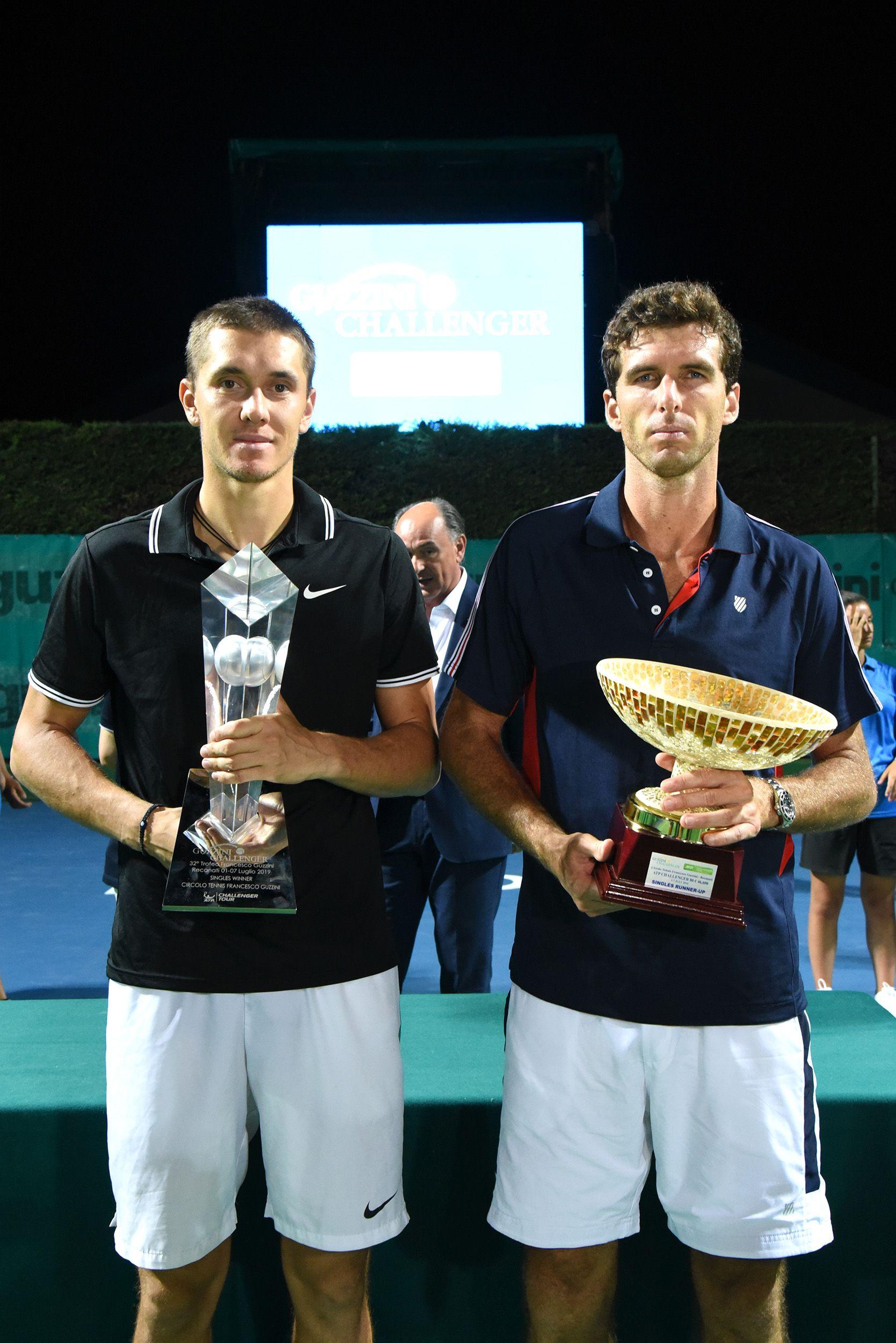 Egor Gerasimov e Roberto Marcora nella foto