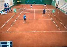 Video del Giorno: Il servizio da sotto di Marko Djokovic