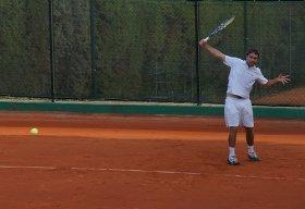 Matteo Marrai impegnato al primo turno contro Capdeville