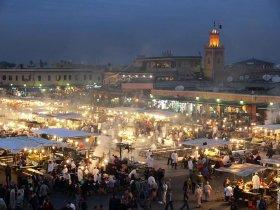 Marrakech conta un milione di abitanti.