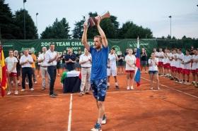 Andrej Martin, vincitore del tabellone di singolare - Foto Lodovica Barbiero