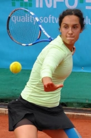 Martina Trevisan, fiorentina classe 1993, n.538 WTA
