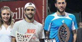 Il vincitore ed il finalista del torneo Open di Massa Lombarda
