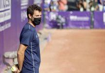 Paul Henri Mathieu, ex top 15 del mondo, raccattapalle nel torneo di Strasburgo