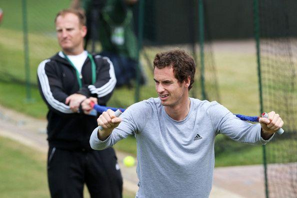 Matt Little insieme ad Andy Murray