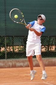 Mattia Bellucci, varesino, giocherà domani la semifinale.- Foto Alvaro Maffeis)