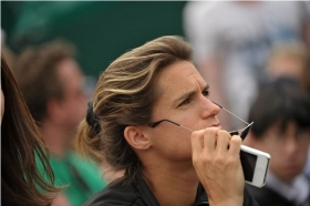 Amelie Mauresmo ha in carriera due tornei del Grand Slam
