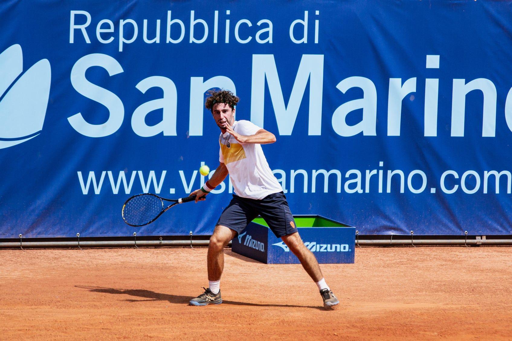 Manuel Mazza nella foto