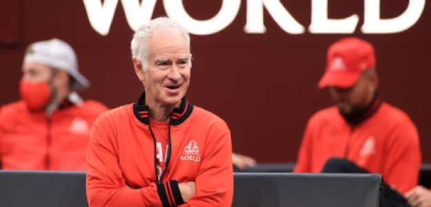 John McEnroe nella foto