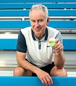 La grande star statunitense condurrà il magazine 'Roland Garros by John McEnroe', trasmesso in esclusiva su Eurosport in tutta Europa