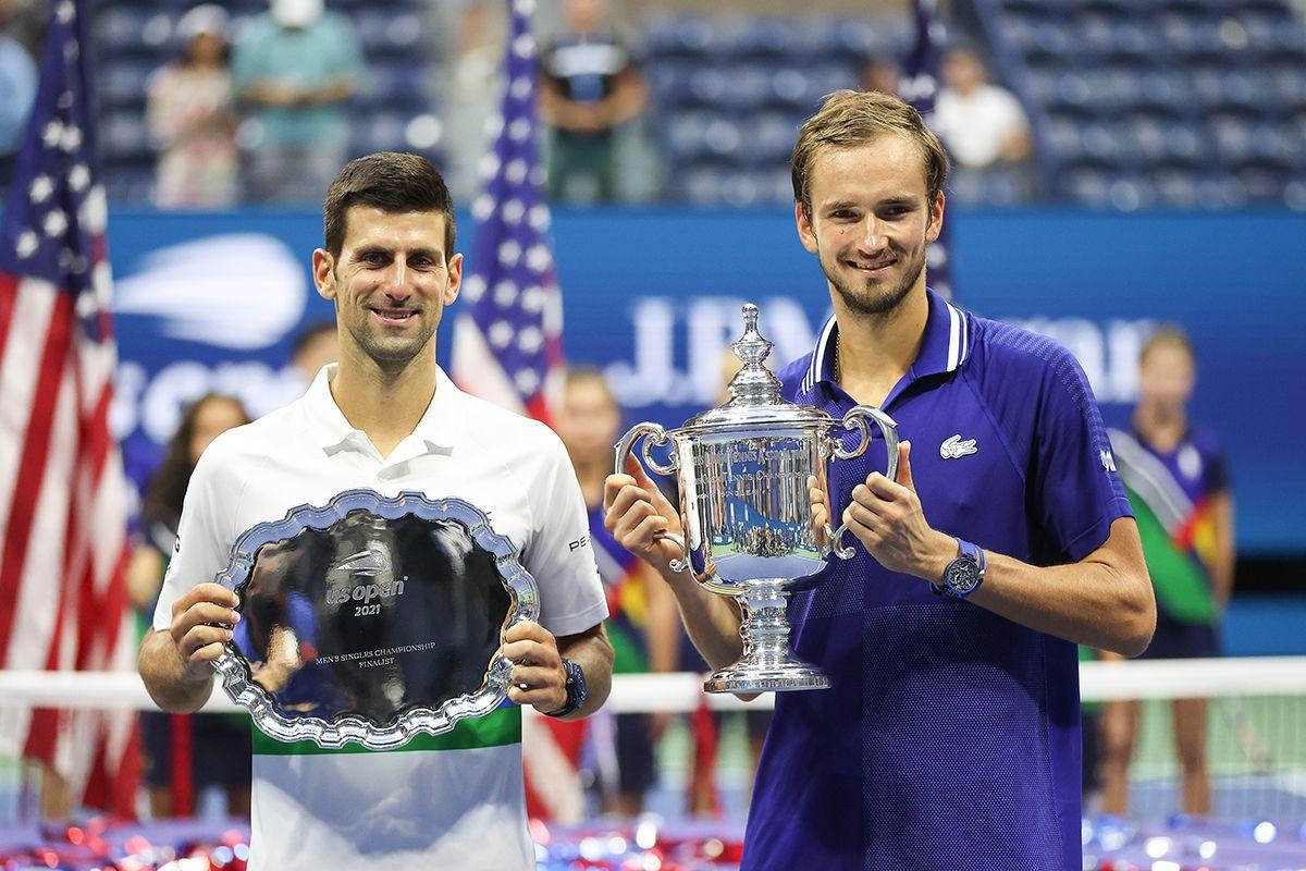Us Open: La conferenza stampa di Daniil Medvedev e Novak Djokovic