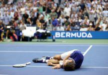 US Open: clamoroso a NY! Medvedev è perfetto, Djokovic è divorato dalla tensione, il russo distrugge il sogno del n.1, domina la finale in tre set e vince il primo Major in carriera. Addio Grande Slam per Novak
