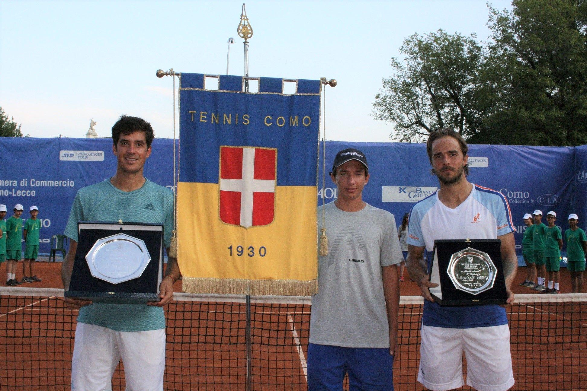 Il vincitore e finalista del torneo di Como