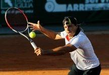 Challenger An Ning: Giuseppe Menga si ritira durante il tiebreak del secondo set