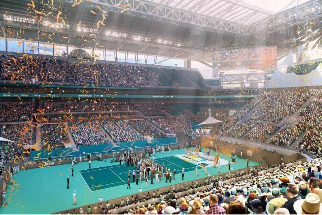 L'Arena del torneo nel 2019