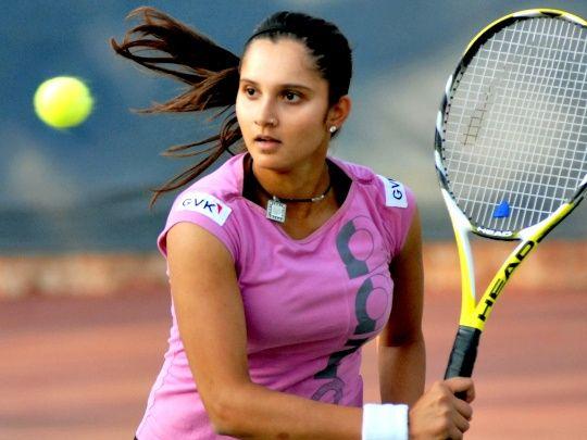 Sania Mirza nella foto