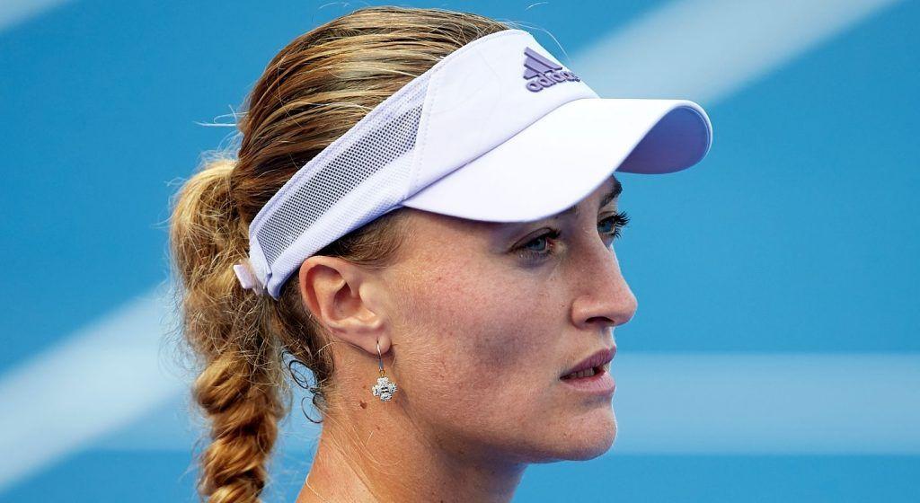 Kristina Mladenovic nella foto