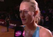 WTA Stoccarda e Istanbul: I risultati delle semifinali. Kristina Mladenovic elimina Maria Sharapova ed è in finale (Video)