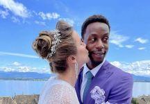 Gael Monfils e Elina Svitolina si sono sposati (foto)
