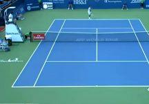 Sospetti per un crollo di quota nel match tra  Aleksandr Dolgopolov e Thiago Monteiro (con il video della partita)