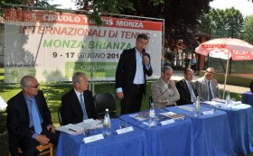 Presentato stamane il torneo di Monza