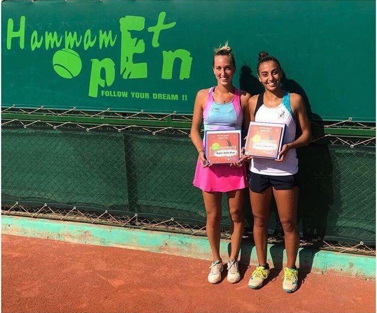 Angelica Moratelli conquista il doppio ad Hammamet in coppia con Natasha Piludu