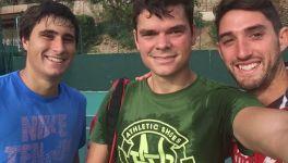 """Il giovane Gianmarco Moroni si allena con Milos Raonic: """"Ricevere i complimenti per un servizio da quello che è forse il miglior battitore del mondo è una bella sensazione"""""""