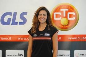 Alice Moroni ha firmato il primo punto della storia del Ct Ceriano Laghetto in Serie A1 battendo Giulia Gabba