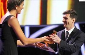 Garbine Muguruza premia Messi