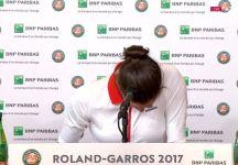 Garbine Muguruza abbandona la conferenza stampa in lacrime (Video)