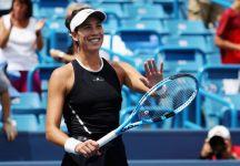 WTA Cincinnati: Finale senza storia. Garbine Muguruza conquista il torneo. Simona Halep racimola un solo game (Video)