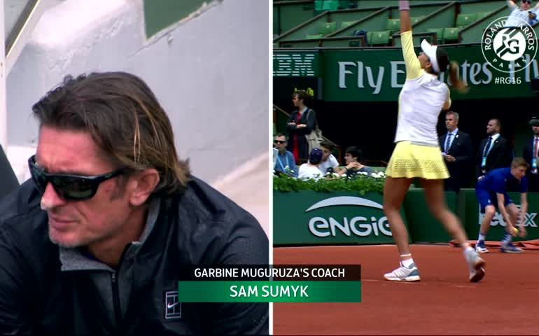 Samuel Sumyk attacca i tifosi del Roland Garros