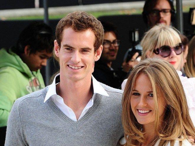 Andy Murray e Kim Sears in attesa del secondo figlio