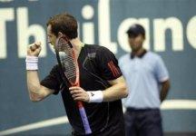 Circuito ATP: A Bangkok successo di Andy Murray. Janko Tipsarevic vince il suo primo torneo nel circuito ATP