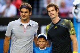 Andy Murray e Roger Federer