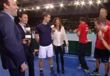 Andy Murray fa una gaffe ed inguaia il suo compagno di squadra Dominic Inglot (Video)