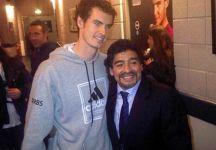 Novak Djokovic rende omaggio a Maradona. Andy Murray e l'aneddoto con Diego alle Finals