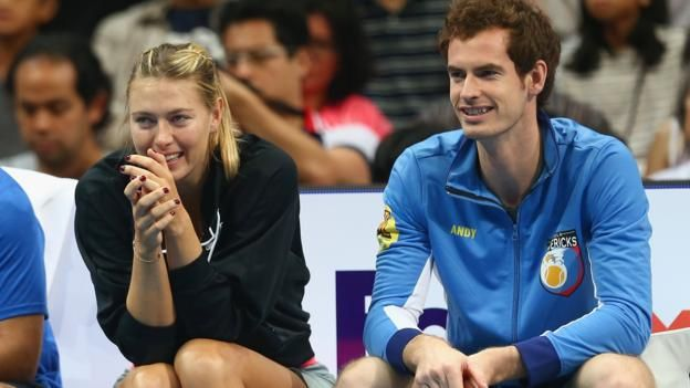 Andy Murray e Maria Sharapova