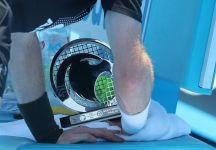Andy Murray si porta in panchina il trofeo di Doha