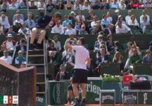 Roland Garros: Carlos Ramos e il battibecco anche con Andy Murray (Video)