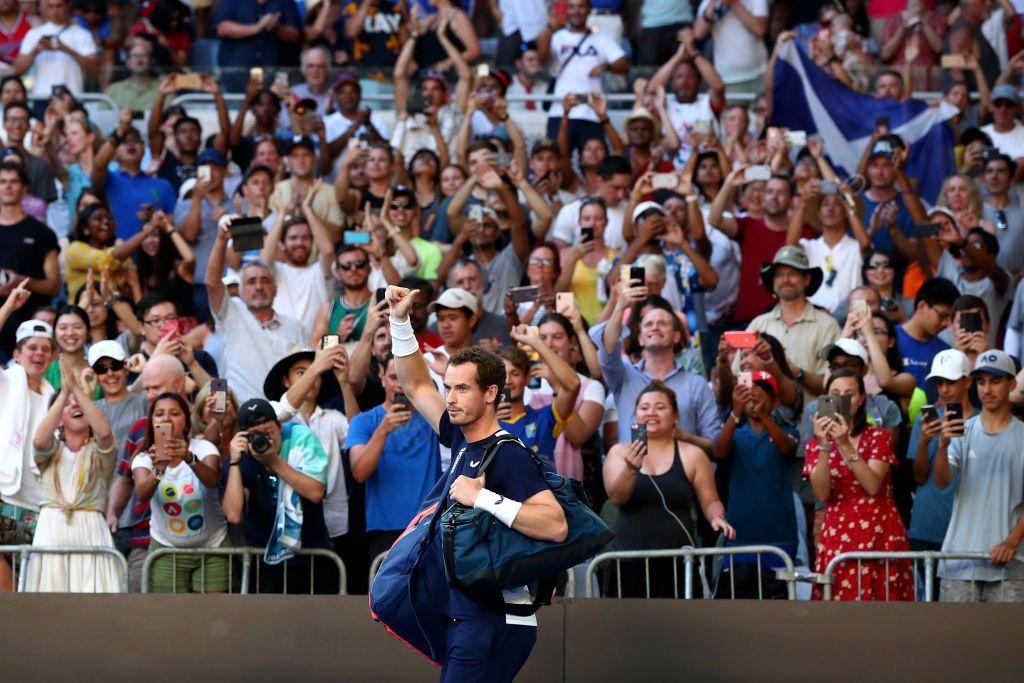 Andy Murray ex n.1 del mondo