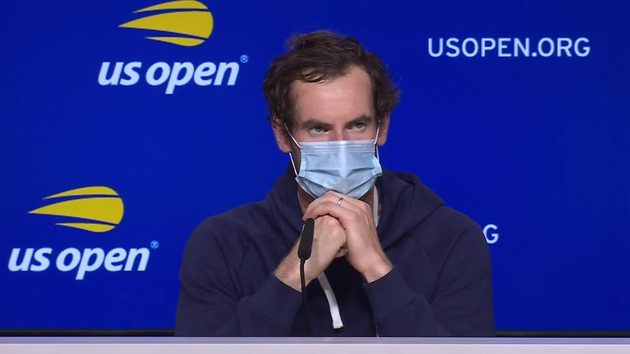 Andy Murray a US Open 2021