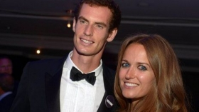 Andy Murray e Kim Sears nella foto
